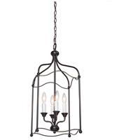 Artcraft Lighting Scarlet 4 Light Chandelier in Bronze CL1354BZ