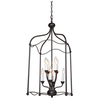 Artcraft Lighting Scarlet 8 Light Chandelier in Bronze CL1358BZ