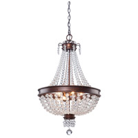 Artcraft Lighting Cobochon 8 Light Chandelier in Bronze CL1365 photo thumbnail
