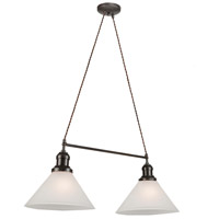 Artcraft Lighting Maison 2 Light Island Light in Oil Rubbed Bronze CL1382OB