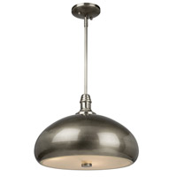 Halo 2 Light 14 inch Brushed Nickel Pendant Ceiling Light
