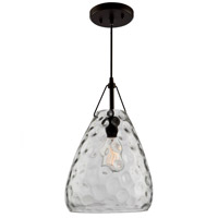 ARTCRAFT Artisan 1 Light Pendant in Oil Rubbed Bronze CL15061OB
