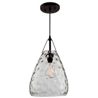 Artisan 1 Light 10 inch Oil Rubbed Bronze Pendant Ceiling Light