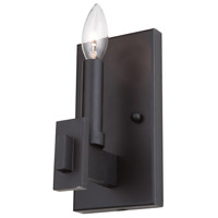 Cityscape 1 Light 5 inch Oil Rubbed Bronze Wall Sconce Wall Light