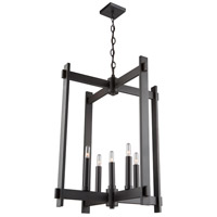 Cityscape 5 Light 20 inch Oil Rubbed Bronze Chandelier Ceiling Light