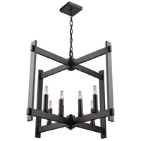 Cityscape 8 Light 26 inch Oil Rubbed Bronze Chandelier Ceiling Light