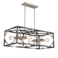 Artcraft Black Metal Island Lights