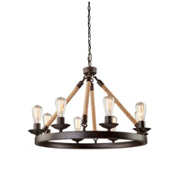 Danbury 8 Light 31 inch Oil Rubbed Bronze Chandelier Ceiling Light