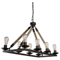 Artcraft Lighting Danbury 8 Light Chandelier CL279