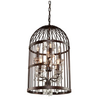 Artcraft Lighting Burbank 8 Light Chandelier in Bronze CL358