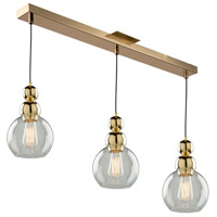 Artcraft Lighting Etobicoke 3 Light Island Light in Gold JA14012GD