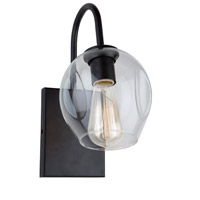 Organic 1 Light 6 inch Black Wall Bracket Wall Light