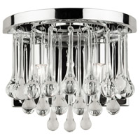 Artcraft Lighting Langley 2 Light Wall Bracket in Chrome JA472