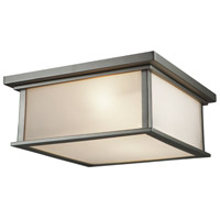 Gatsby 4 Light 14 inch Satin Nickel Flush Mount Ceiling Light