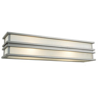 Gatsby 2 Light 6 inch Brushed Stainless Steel Wall Sconce Wall Light