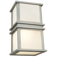 Gatsby 2 Light 6 inch Satin Nickel Wall Bracket Wall Light