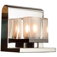 Eddie 1 Light 5 inch Chrome Bathroom Vanity Wall Light