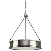 Eastwick 4 Light 22 inch Brushed Nickel Chandelier Ceiling Light