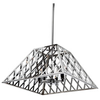 ARTCRAFT Jardin 4 Light Chandelier in Chrome SC13064CH