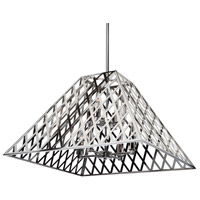 ARTCRAFT Jardin 8 Light Chandelier in Chrome SC13068CH