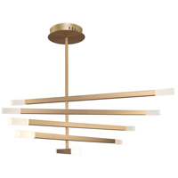 Artcraft SC13090BG Twig 10 Light 35 inch Brushed Gold Chandelier Ceiling Light
