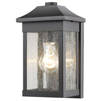 Black Morgan Outdoor Wall Lights