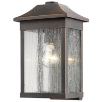 Morgan 1 Light 13 inch Rust Outdoor Wall Light