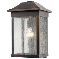 Morgan 1 Light 16 inch Rust Outdoor Wall Light