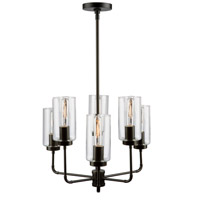 Artcraft SC13136OB Ray 6 Light 21 inch Oil Rubbed Bronze Chandelier Ceiling Light