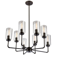 Artcraft SC13138OB Ray 8 Light 25 inch Oil Rubbed Bronze Chandelier Ceiling Light