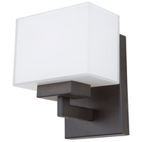 Cube 1 Light 6 inch Oil Rubbed Bronze Wall Sconce Wall Light