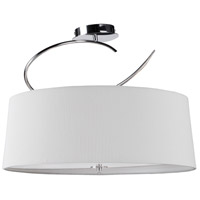 Steven & Chris by Artcraft Lighting Oslo 4 Light Semi Flush in Chrome SC164
