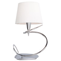 Steven & Chris by Artcraft Lighting Oslo 1 Light Table Lamp in Chrome SC169