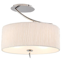 Steven & Chris by Artcraft Lighting Sloan 3 Light Semi Flush in Chrome SC200 photo thumbnail