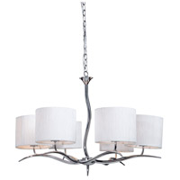 Steven & Chris by Artcraft Lighting Sloan 6 Light Chandelier in Chrome SC206 photo thumbnail