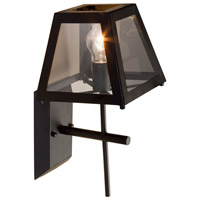 Steven & Chris by Artcraft Lighting Kingston 1 Light Wall Bracket in Black SC237