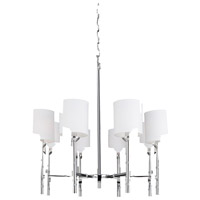 Steven & Chris by Artcraft Lighting Gramercy Park 8 Light Chandelier in Chrome SC428