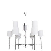 Steven & Chris by Artcraft Lighting Gramercy Park 9 Light Chandelier in Chrome SC429