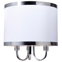 Steven & Chris by Artcraft Lighting Madison 3 Light Chandelier in White SC433