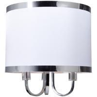 Artcraft SC433WH Madison 3 Light 16 inch White Chandelier Ceiling Light
