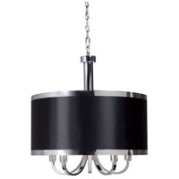 ARTCRAFT Madison 5 Light Chandelier in Black SC435BK