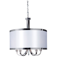 Madison 5 Light 24 inch White Chandelier Ceiling Light