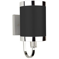 Steven & Chris by Artcraft Lighting Madison 1 Light Wall Bracket in Black SC437
