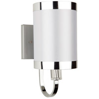 Steven & Chris by Artcraft Lighting Madison 1 Light Wall Bracket in White SC437