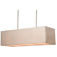 Steven & Chris by Artcraft Lighting Mercer Street 5 Light Island Light in Oat Meal SC543