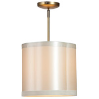 Steven & Chris by Artcraft Lighting Richmond 1 Light Single Pendant in Antique Brass SC571