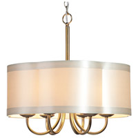 Steven & Chris by Artcraft Lighting Richmond 6 Light Chandelier in Antique Brass SC576