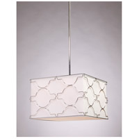 Steven & Chris by Artcraft Lighting Morocco 4 Light Chandelier in Chrome SC634