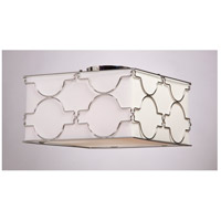 Steven & Chris by Artcraft Lighting Morocco 4 Light Flush Mount in Chrome SC636