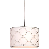 Morocco 4 Light 16 inch Chrome Chandelier Ceiling Light